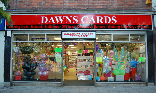 Dawn's Cards, 214 Southchurch Drive, Clifton, Nottingham. NG11 8AA
