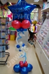 personalised birthday balloon displays