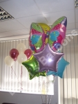 butterfly novelty balloon displays