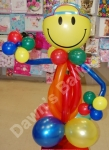 Teenager balloon figure