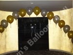 Doorway balloon arch