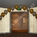 Balloon arch way