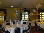 wedding reception room decorated by Dawns Balloons 4 All
