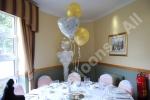 3 balloon table decoration