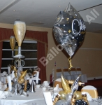Balloon table decorations - made to your specifications.