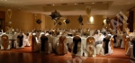 fully decorated function room in nottingham.