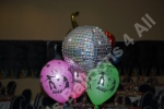 Glitterball balloons brightens any party!