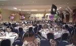 Balloon decoration function room in Nottingham.