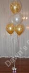 Floor Standing Double Bubble Balloon Decoration
