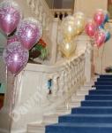 3 Balloon Double Bubble Bouquets