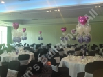 5 Balloon Boquet Table Decorations