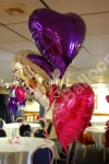 3 Balloon Bouquet Purple Top