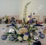 Hand Made Balloon Rose Top Table Flower Arrangement