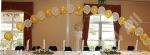 top table balloon arch