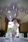 ballon table decoration double bubble