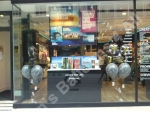 Shop front window display for Jessops in Nottingham