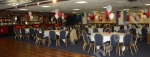 Wide view of one of the Forest's function room