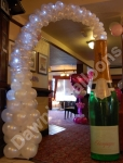 Champagne Bottle Arch with Lights - prices starting from �85.00