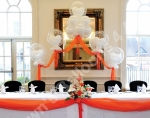 Ultimate Cloud and Deco Bubble Top Table Wedding Arch - prices starting from �85.00