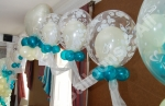 Teal & Ivory Deco Bubble Arch - prices starting from �120.00
