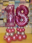 Personalised Numbers & Letter Displays - prices starting from �30.00