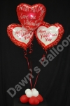 Personalised Foil Balloon Display - prices starting from �12.50