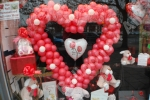5' Valentine's / Wedding Balloon Heart - prices starting from �65.00 plus �50 deposit for the frame.