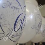 Wedding anniversay balloons