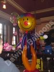 Balloon figure at birthday party at the Wheatsheaf