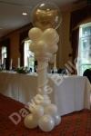 standing balloon display