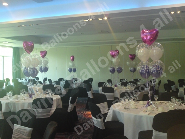 Balloon decoration nottingham photo gallery dawns balloons 4 all 5 balloon boquet table decorations junglespirit Image collections